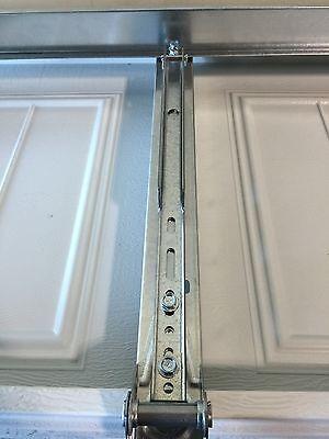3 Of 10 2 Horizontal Garage Door Opener Reinforcement U Bar Strut Brace For  8u0027 Wide Door