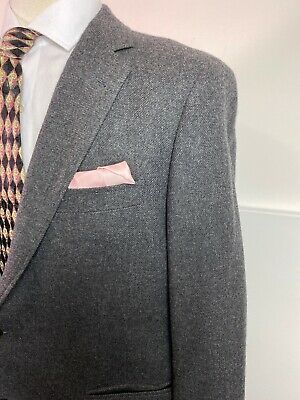 Brooks Brothers Gray wool cashmere Two Button Sport Coat Size 44R Fitzgerald cut 3