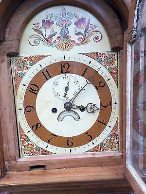 pine grandfather clock 8