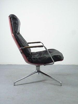 early Kill International FK86 Ledersessel lounge chair design Fabricius Kastholm