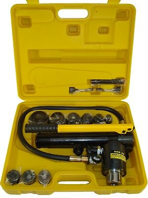 22-60 mm Hydraulic hole puncher set die tool punch kit K-8D IE 9
