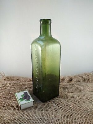 "Alte Apothekerflasche ""HAEMATICUM=GLAUSCH"" / old pharmacy bottle 4"
