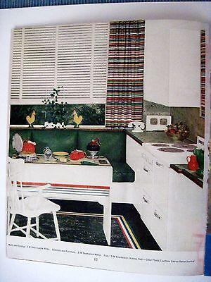 "Vintage 1939 Booklet ""Home Decorator & Color Guide by Rockwell Kent (Artist) * 8"