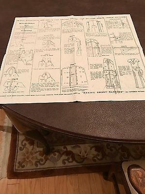 Antique Sewing Pattern- Butterick # 3619 -Ladies Dress- 1930's 2