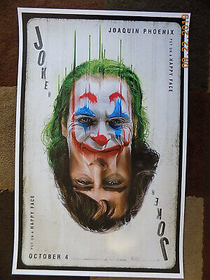 "Joker  ( 11"" x 17"" ) Movie Collector's Poster Print (T2) B2G1F 3"