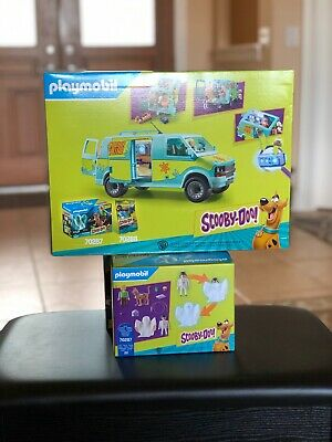 Playmobil Scooby-Doo Mystery Machine ALL 12 GHOSTS in SEALED Bags! Shaggy