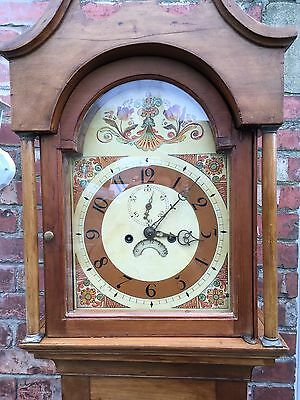 pine grandfather clock 3