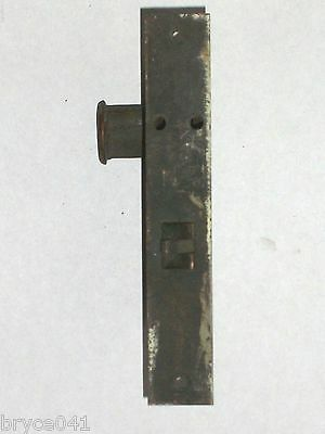 Antique Corbin Thumb Latch Entry Locks 2