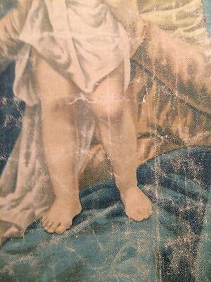 Luigi Morgari Fresco Painter (Canvas) Mary Holding Baby Jesus and Joyous Angels 9