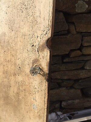 One Board Antique Door