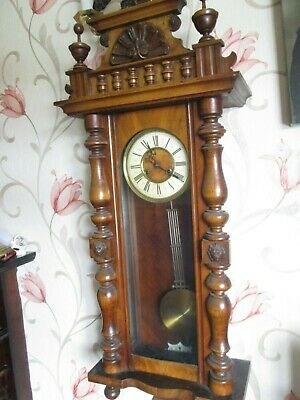 Large Vienna Wall Clock (Around 1880) 2