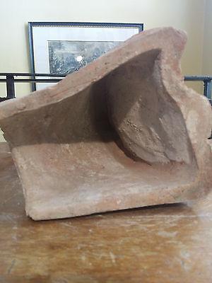 Old Athenian Antefix Akrokeramo Greece Greek Ceramic Terracotta Ernst Ziller