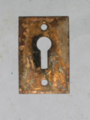 Antique Victorian Era Key Hole Cover #2 2