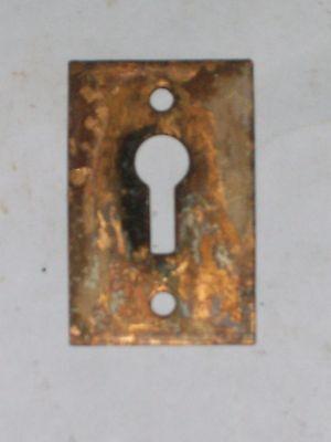 Antique Victorian Era Key Hole Cover #2