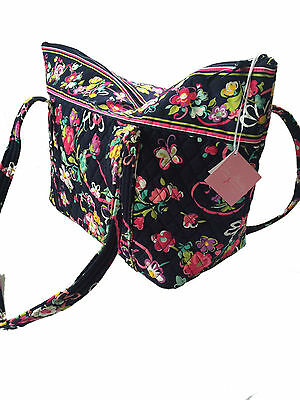 Vera Bradley Miller Travel Carry-on Bag - Ribbons with Solid Pink Interior - NWT 3