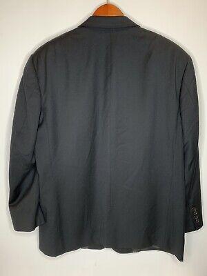 Hugo Boss Mens Size 40R Einstein Pure Wool Blazer Black Made In USA 8