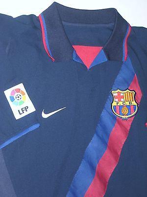 low priced 3a776 55cca 2003-2004 NIKE FC Barcelona Ronaldinho Away Jersey Trikot Maglia Kit Brazil  FCB