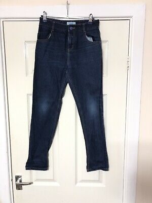 Ted Baker Blue Jeans Boys Size 11 Years Zip Closure (A796) 2