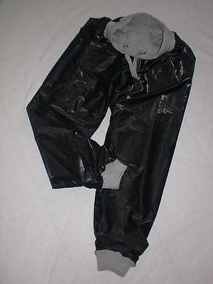Pvc & Cotton Doppel Pyjama Hose Jogginghose & Innen Extra Soft Pvc Pants Xxl-3Xl 2