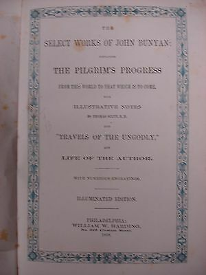 Bunyan's Select Works Illuminated - 1868