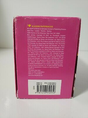 NANCY DREW Girl Detective book set #17-24 6