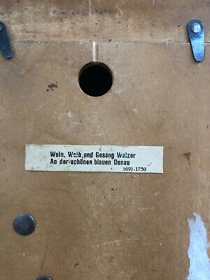 Vintage Hand Made Wooden Regula Musical Dancers Wheel Cuckoo Clock Germany 10