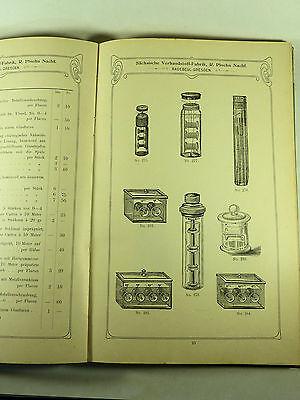Buch Katalog Sächsische Verbandstoff Fabrik Dresden Radebeul Ploehn Von 1902 7