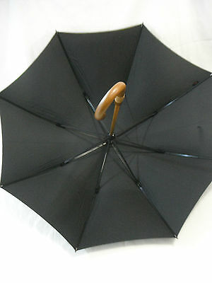 Shelta Mens Long Rain Sun Umbrella - 5900 Supersize Executive Wood Shaft