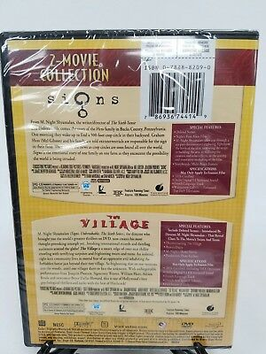 Signs The Village 2-Movie Collection M Night Shyamalan DVD New Sealed 2