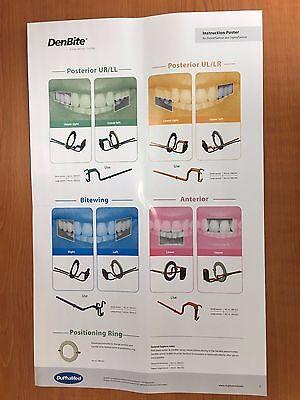 DenBite X-ray sensor holder - 1 x box Posterior Small UR/LL