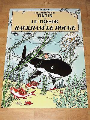 22 Tintin Poster Set - Tintin & Struppi Posters Together New Mint Top Rar 3 • CAD $117.99