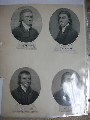 Methodist Portraits Collection - Circa 1800's 2