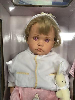 Art Dolls-ooak Dolls Götz Hildegard Günzel Puppe Vinyl Puppe 55 Cm Top Zustand