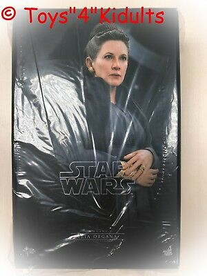 Hot Toys MMS 459 Star Wars The Last Jedi Leia Organa Carrie Fisher Figure NEW 2