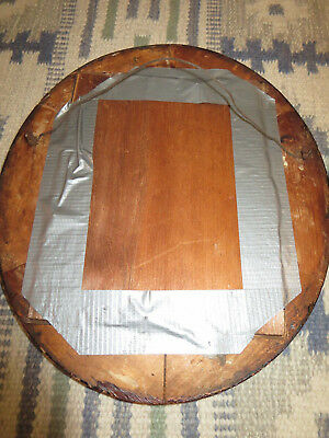 """2 Antique Edwardian Carved Wood 14"""" by 12-1/4"""" Oval Picture Frames 6"""