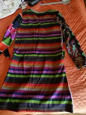 Vestito Desigual Bambina 9/10 Anni 5