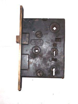 Antique H&D Mfg Co. Eastlake Era Entry Locks With Thumbturn Option. 6