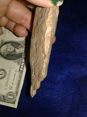 BEAUTIFUL Ice Age artifact tool, end scraper