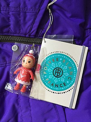 Poivre Blanc Girls Ski Jacket 4 years/104cm Grape Brand New + Tags RRP £173 3