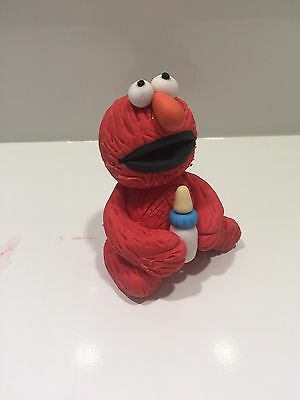 3D Edible Elmo Cake Topper Fondant Birthday Cakes Sesame Street Icing Toppers 2