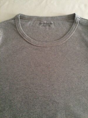 M&S Ladies Long Sleeve Crew Neck T Shirt Pure Cotton,sz 6-24,free postage 4