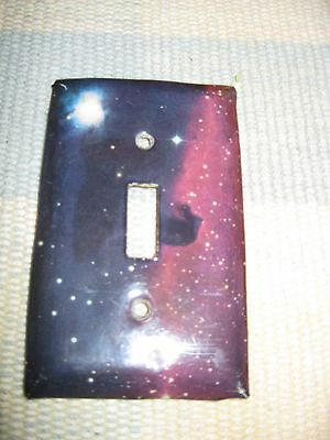 Set of 5 Vintage Star, Sun, and Planet Light Switch Plate Covers 6