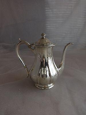 Arthur Stone Sterling Silver Tea Set Tilting Kettle On Cradle w/Tray 7pc #0176