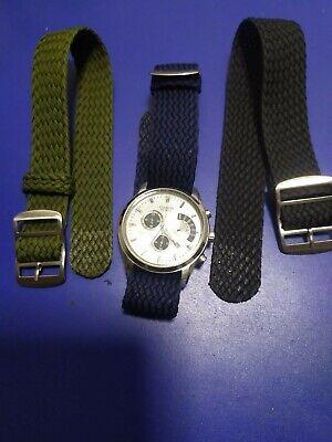 18mm - 20mm - 22mm Strap Correa Reloj Perlon Pulsera Watch band 2