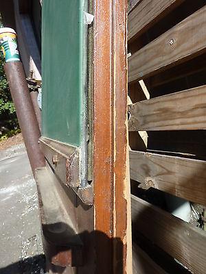 "early 20th century schoolhouse SLATE chalkboard salvaged DOOR & FRAME 65 x 30.5"" 7"