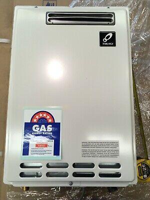 Takagi 20L Continuous Flow LPG Gas Hot Water Heater, Replace Rinnai Rheem DUX 2