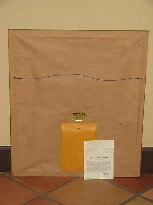 Vintage Ray Harm Yellow-Headed Blackbird Signed Framed Print, Plate XLIII 4
