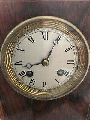 Handsome 19th century clock, library clock or mantel clock 10