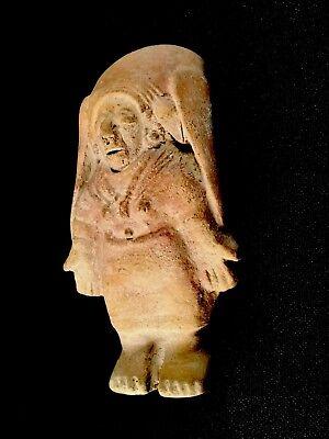 Authentic Pre Columbian Clay Art Figure From Ecuador 5