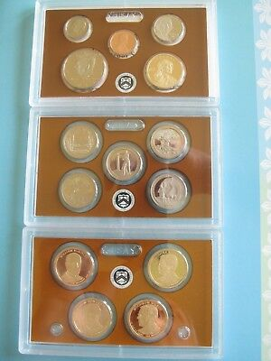 2013-S U.S. MINT PROOF SET 14 CLAD COINS ORIGINAL PACKAGING with CERTIFICATE P15 3